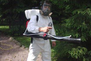 Обработка участка от комаров в Санкт-Петербурге