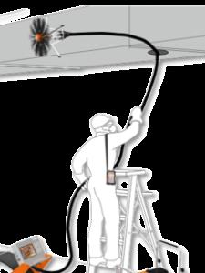 Фото очистка систем вентиляции